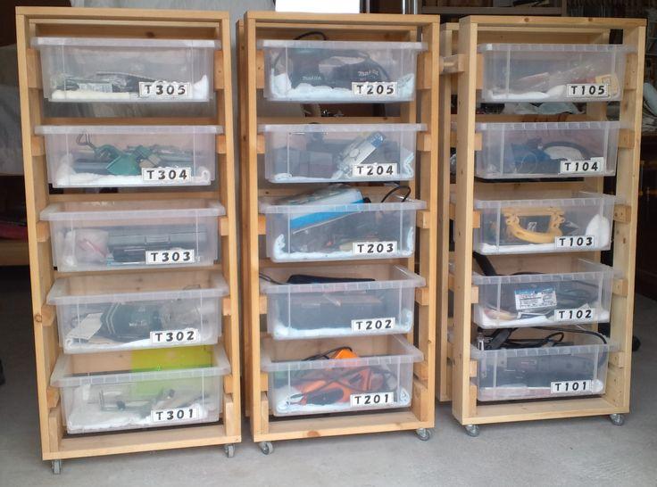 tool box storage ガレージ工房