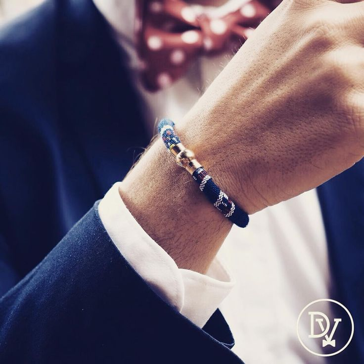 Add personality and style when getting suited up with #TheAbraham woven bracelet from @dappervigilante.  Get this classic bracelet today at bit.ly/DapperVigilante.  #DapperVigilante