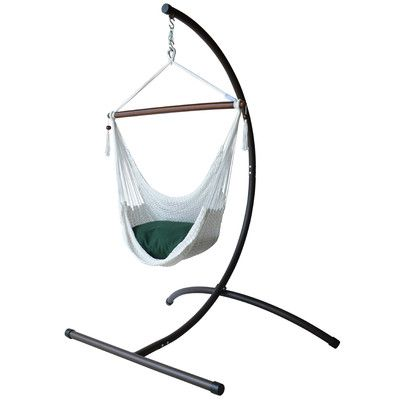 KWHammocks Caribbean Hammock Chair with Stand Color: