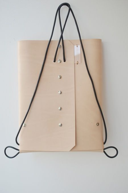 »The BUTTON backpack is inspired by minimalist design and architecture«
