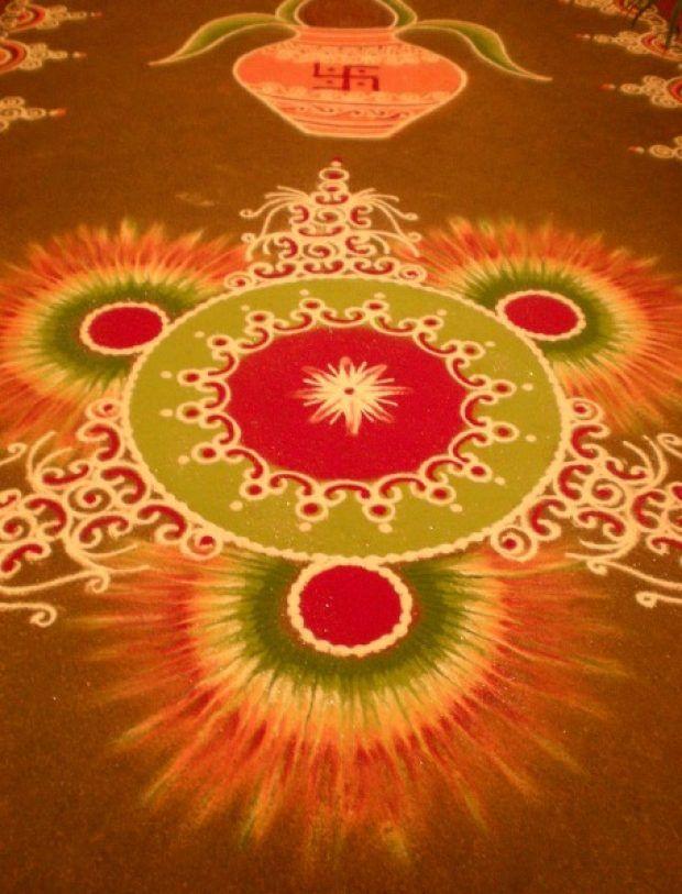 50+ Attractive Indian Rangoli Designs for Diwali Festival