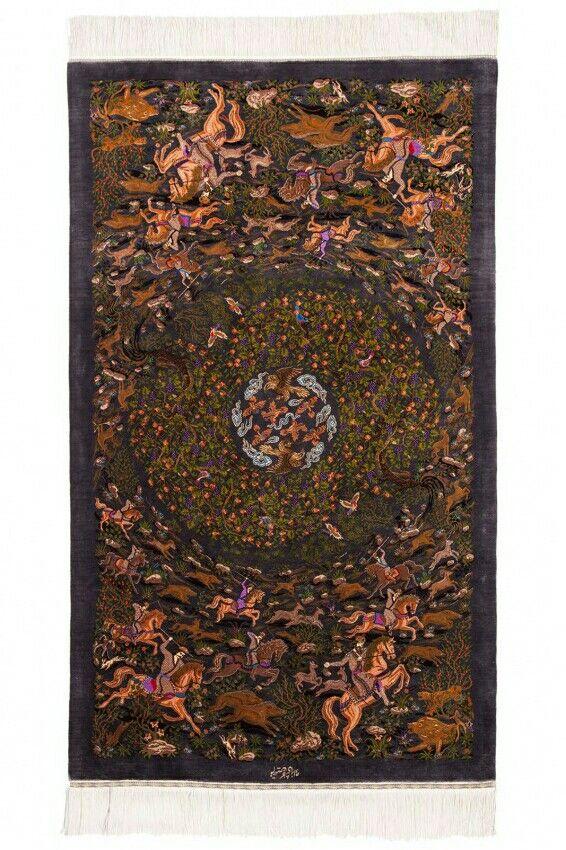 Istanbul Silk Collection Rug 5′1″ x 3′ - 1.55 x 0.92 mt. (Silk On Silk) $ 23,300