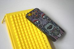 Cover for iPhone5 - Featuring different Celtic Gods and Inspired by Celtic Warriors of Old With Designs Drawn From Woad Used to Paint Faces for Battle and Smyth & Browne Signature Discs, These Tough, Mulitcoloured Phone Cases Are Perfect For the Man That Isn't Afraid to Show His Confidence - 4 to Collect Pictured is Lugh God of Healing and Prophecy