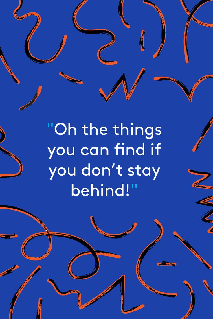 22 Nostalgic Dr. Seuss Quotes That Will Bring You Back To Childhood  #refinery29  http://www.refinery29.uk/2016/03/105083/dr-seuss-quotes#slide-15  On Beyond Zebra! (1955)...