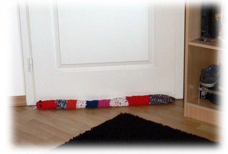 33 best images about coussins de porte on pinterest sock - Boudin de porte ...