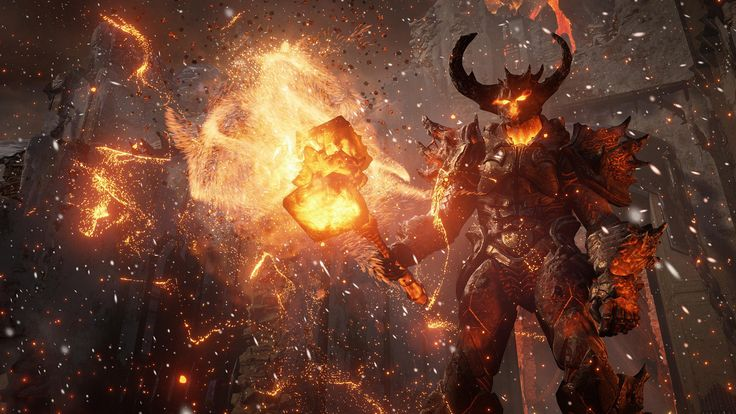 fire unreal engine game HD wallpapers