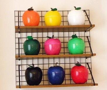 vintage apple ice buckets