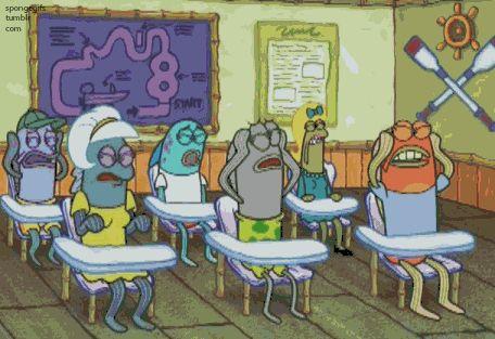 When teachers discuss the final exam..