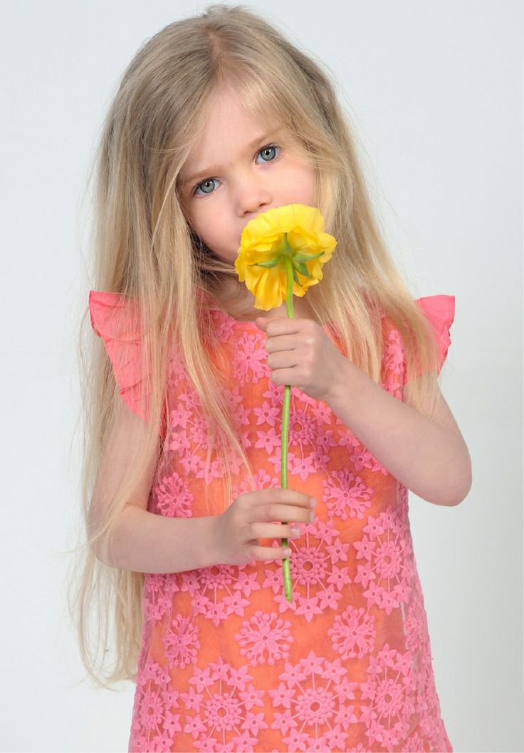 Charabia Collection Eté 2014 #flower #girl #summer
