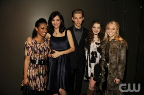 The Carrie Diaries cast via @CarrieDiariesNY
