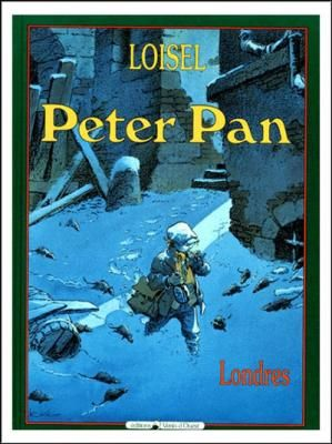 Couverture Peter Pan, tome 1 : Londres