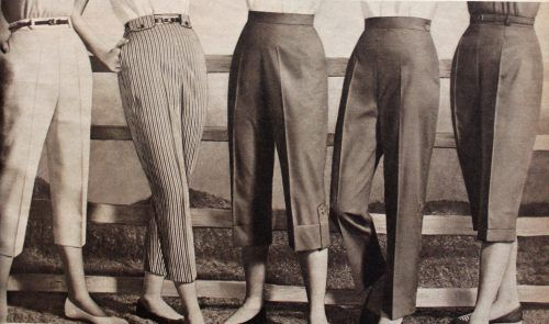1958 Capri Pants