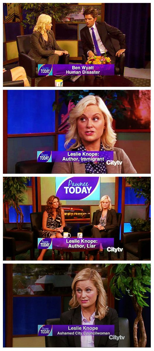 Pawnee Today. Parks and Recreation.