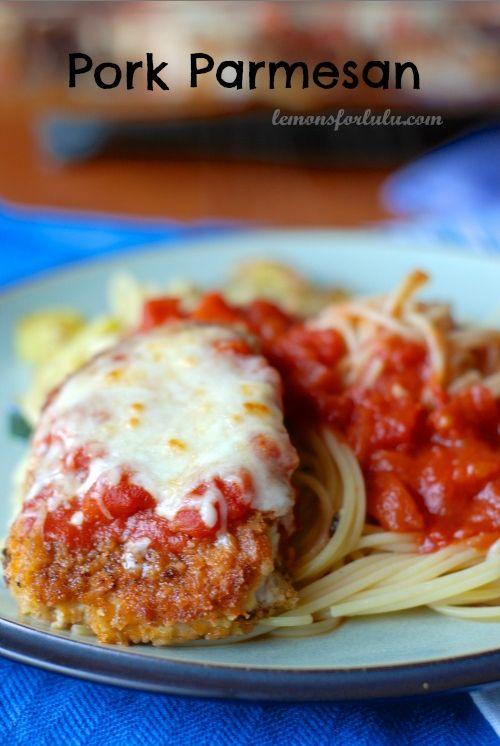 Pork Parmesan with Easy Homemade Marinara | 23 Pork Chop Recipes That Are Actually Delicious