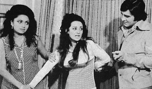 #muvyz052617 #BollywoodFlashback #whichmuvyz #guessthemovie #Bindu #SairaBanu #VinodKhanna #muvyz #instadaily #instapic #instagood