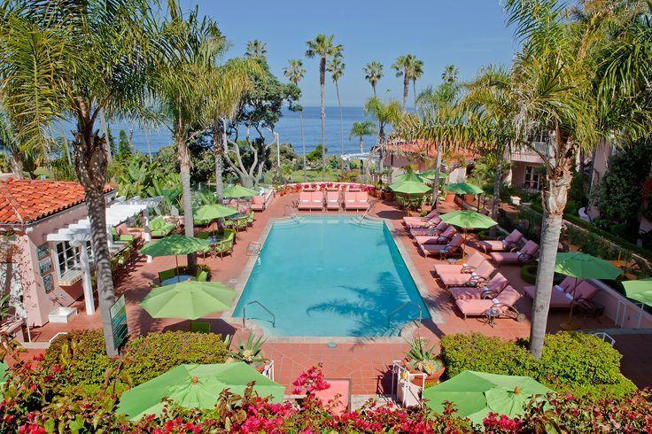 La Valencia Hotel La Jolla, Kalifornien, USA in