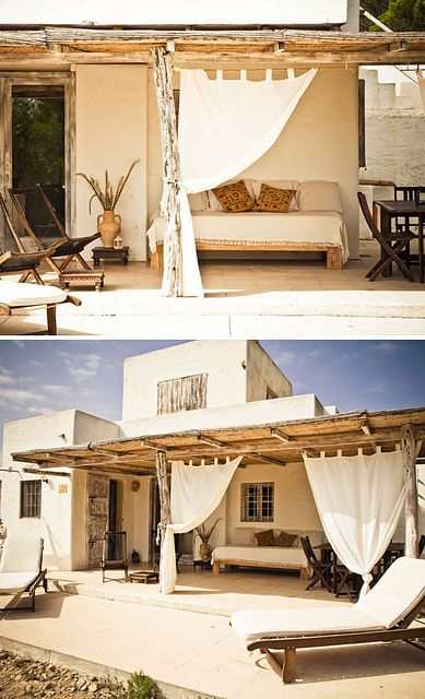 BEAUTIFUL RENTAL VILLAS ON FORMENTERA by the style files, via Flickr