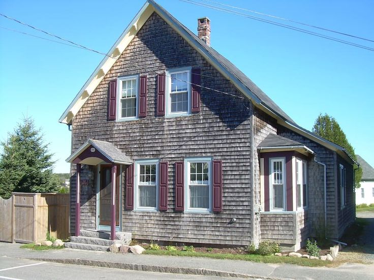 Winter harbor maine airbnb rental vacation home