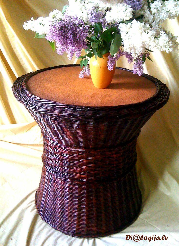 Плетеный стоилик-корзинка, Dialogija