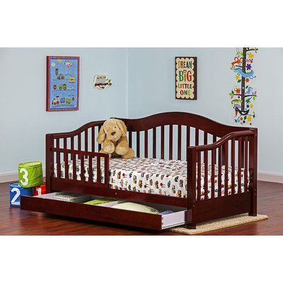 Found it at Wayfair - Convertible Toddler Bed with Storage