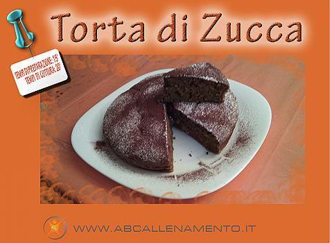 Ricetta Torta di Zucca al Microonde con Farina Integrale