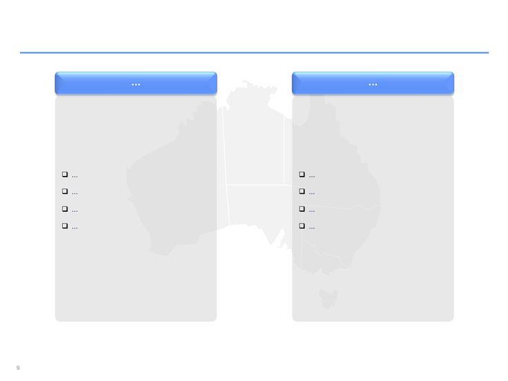 Descarga ahora Mapas de Australia editables en PowerPoint
