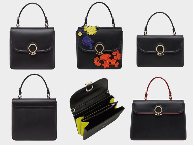 Versace DV One Bag: Must-Have Women's FW17/18 Accessories. Elegant and timeless handbag with playful individuality More: http://bit.ly/2w5OV80