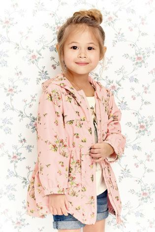 Buy Pink Floral Cagoule (3mths-6yrs) from the Next UK online shop