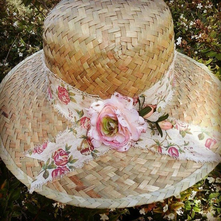 Straw hat..