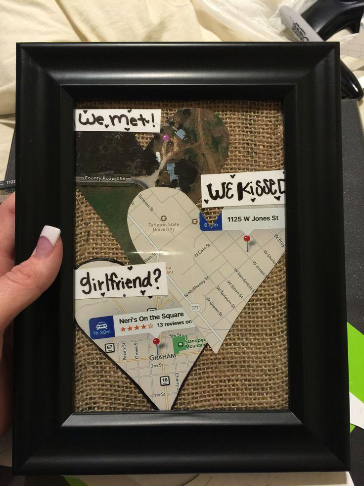 Cute Valentine Present We Met We Kissed Girlfriend