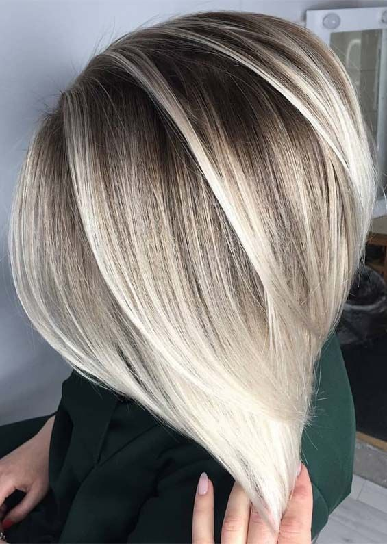 54 Perfect Blonde Hair Colors With Dark Roots For 2019 Fashionsfield Blonde Hair With Roots Hair Styles Blonde Hair Color