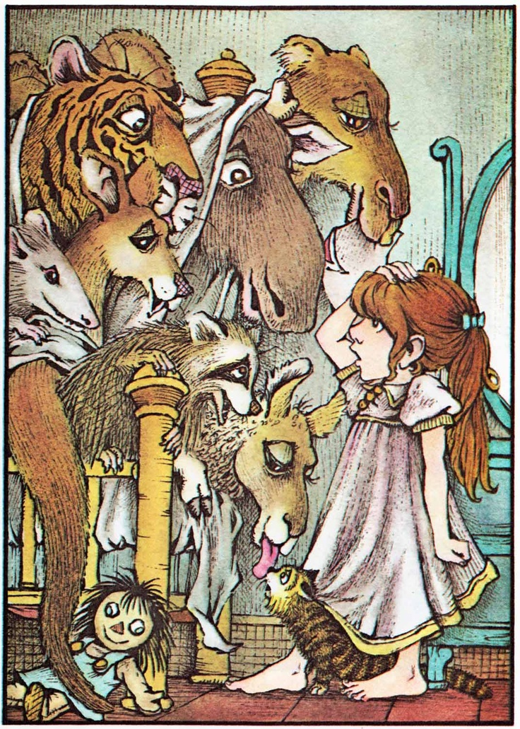 One of my favorite books by one of my favorite author/artist, Mercer Mayer. What Do You Do With A Kangaroo?