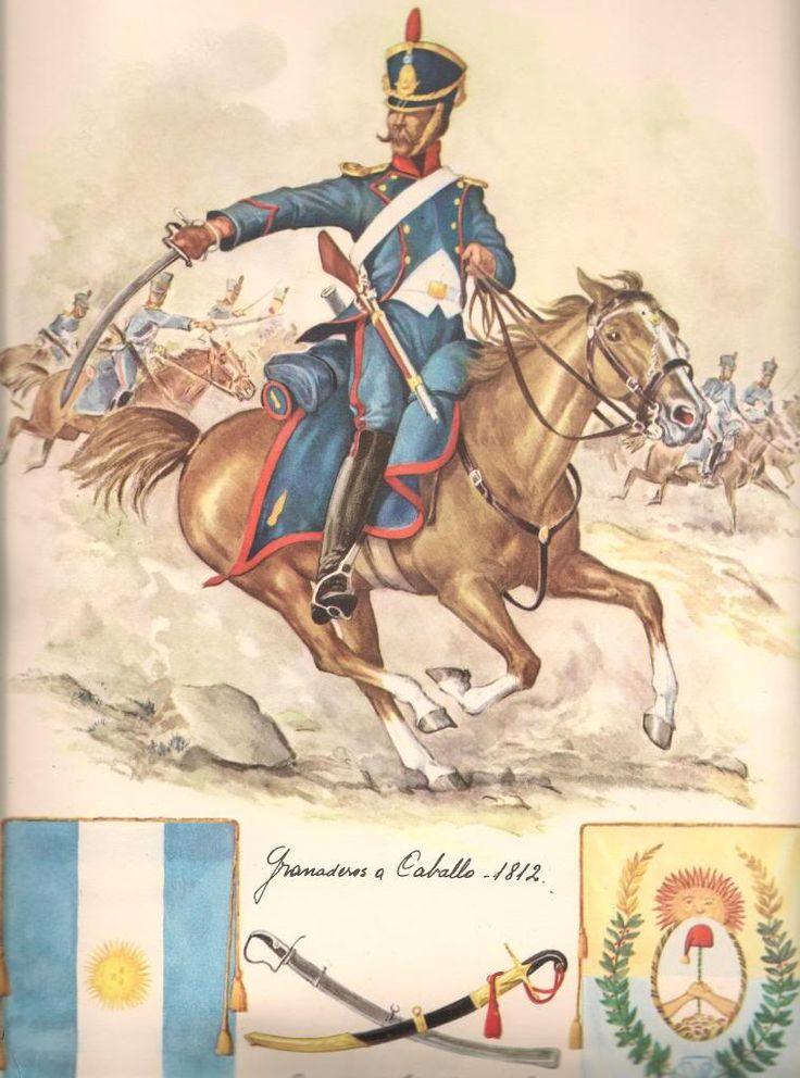 Granadero a caballo, 1812