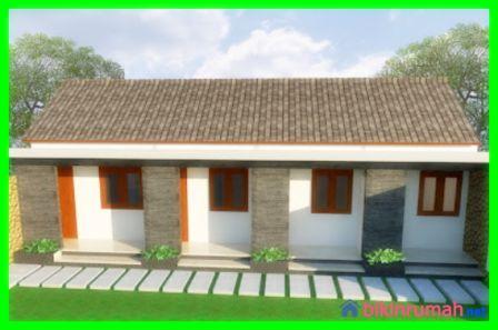 desain rumah kost minimalis 1 lantai yang membuat nyaman