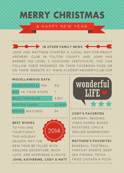 13 best letter templates images on pinterest christmas for Christmas newsletter design ideas