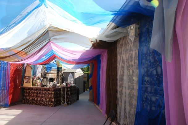 Egyptian Party Tenting