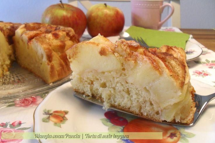 Torta di mele leggera, ricetta dolce