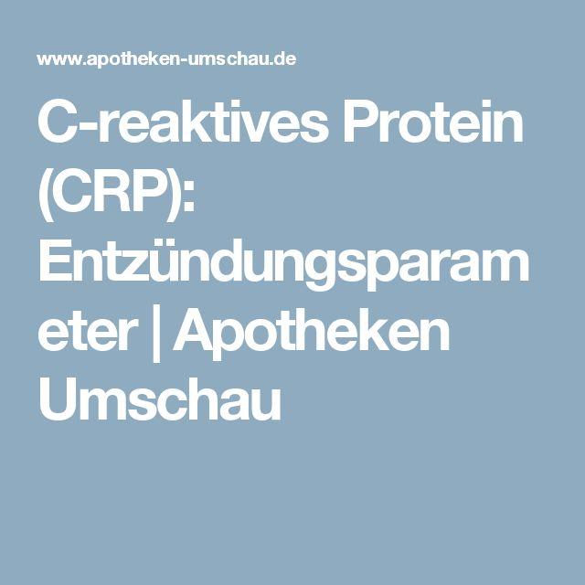 C-reaktives Protein (CRP): Entzündungsparameter | Apotheken Umschau