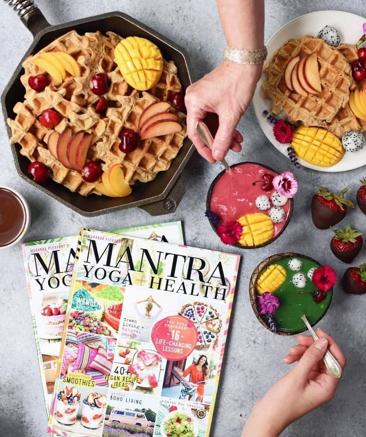 Lots of brunch inspiration in@mantramagazine, the onlyveganyoga & wellness magazine. Herbs and Spices, Ayurveda, the Power of Plants, plant-based recipes, travel inspiration, and boho living. It's still on stands for a few more days! Available nationally in the U.S. at every major grocery store + Target. Make sure you grab your copy Today at@wholefoods @sprouts @earthfare @mothersmarkets @vitamincottage, @target @safeway @publix @krogerco @harristeeter @erewhonmarket @ralphs @vons…