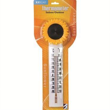 Decorative Sunflower Thermometer