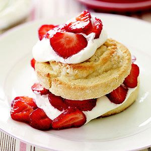 strawberry swirl shortcakes