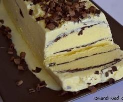 glace vanille chocolat façon viennetta