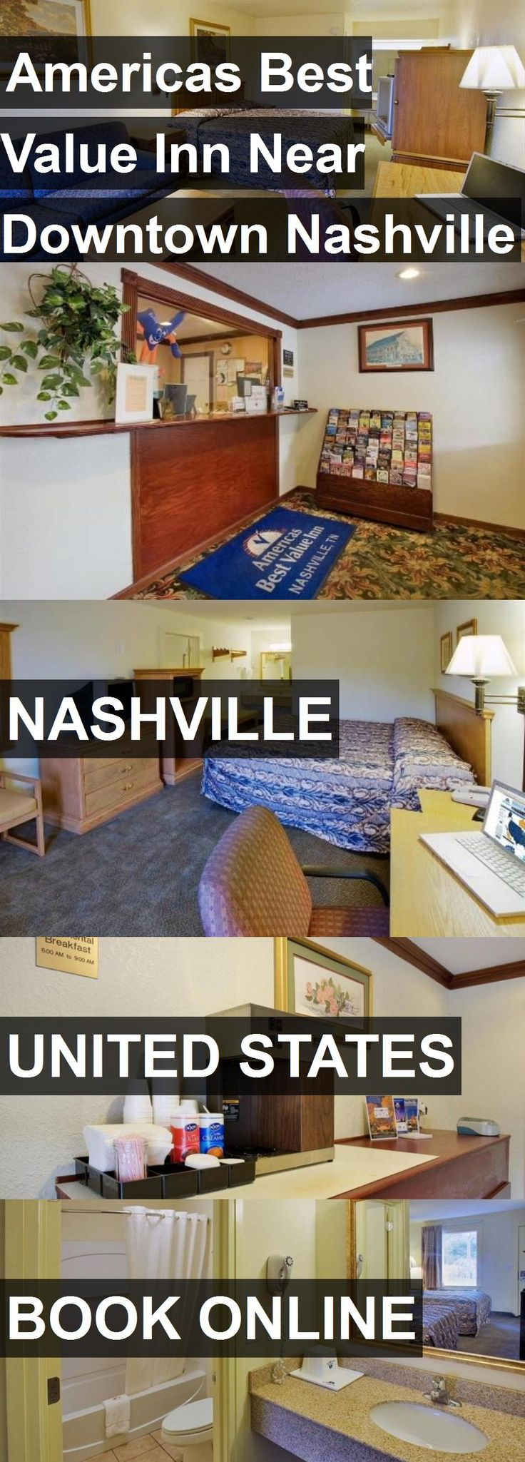 Hotel Americas Best Value Inn Near Downtown Nashville in Nashville, United States. For more information, photos, reviews and best prices please follow the link. #UnitedStates #Nashville #travel #vacation #hotel