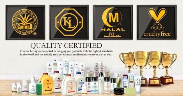 Kiváló minőségű termékek a Forever Living Products cégtől.