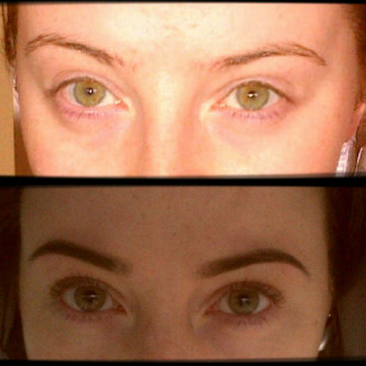 Had my eyebrows tended to by professionals, and what a difference it made!!!