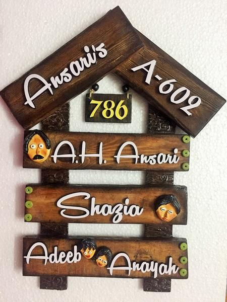 111 best name plate images on Pinterest | Nameplate, Name plates ...