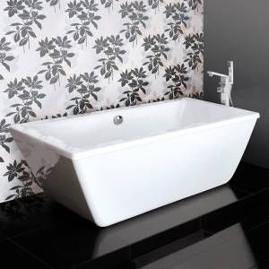 Trick Double Ended Square Freestanding Bath