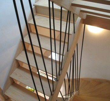 1000 ideas about rambarde escalier on pinterest rampe escalier bois rambarde d escalier and. Black Bedroom Furniture Sets. Home Design Ideas