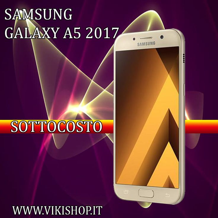 Acquista Samsung A5 2017 Oro 32GB Italia !! https://lnkd.in/fNN5Zas #samsunga5 #galaxya5 #samsunga52017 #a52017oro #a52017nero #samsunga5italia