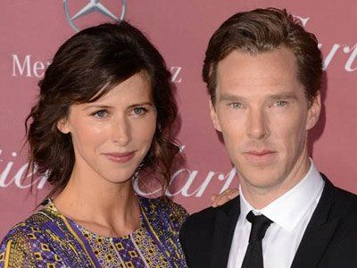 """Actor Benedict Cumberbatch is """"over the moon"""" that his fiancee Sophie Hunter is pregnant with their first child.  The """"Imitation Gam"""